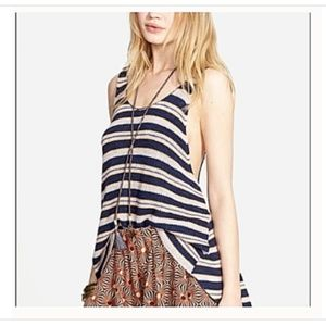 Free People Sailor Tank Large Oversize